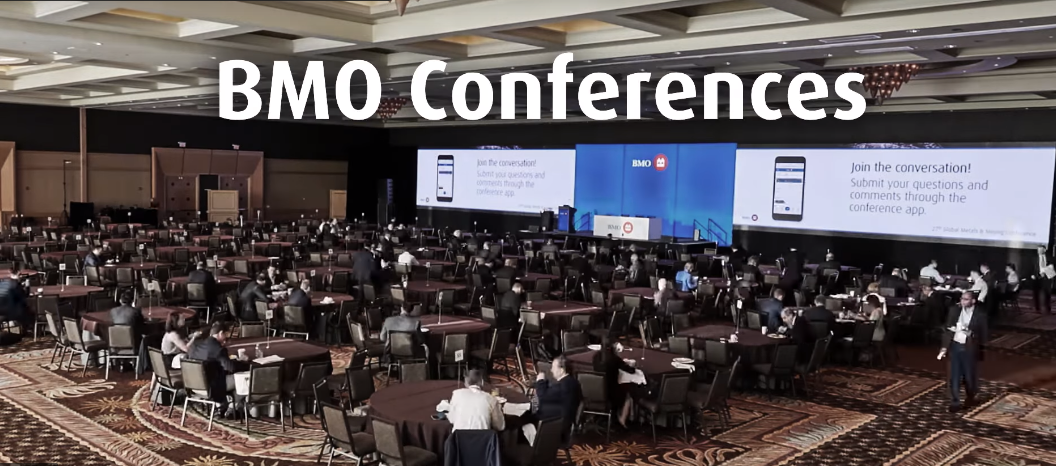 BMO conferences. Click here to play video.