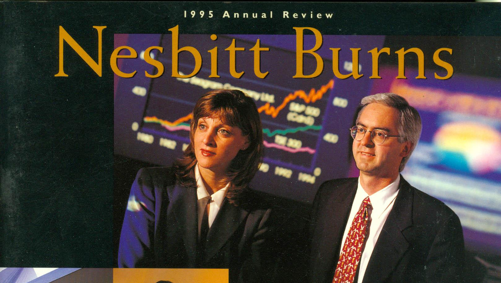 Cover of Nesbitt Burn's Annual Report, 1995.